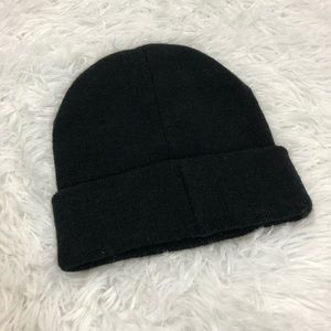 Victoria's Secret Accessories - Victoria's Secret Sport Black Winter Beanie Hat